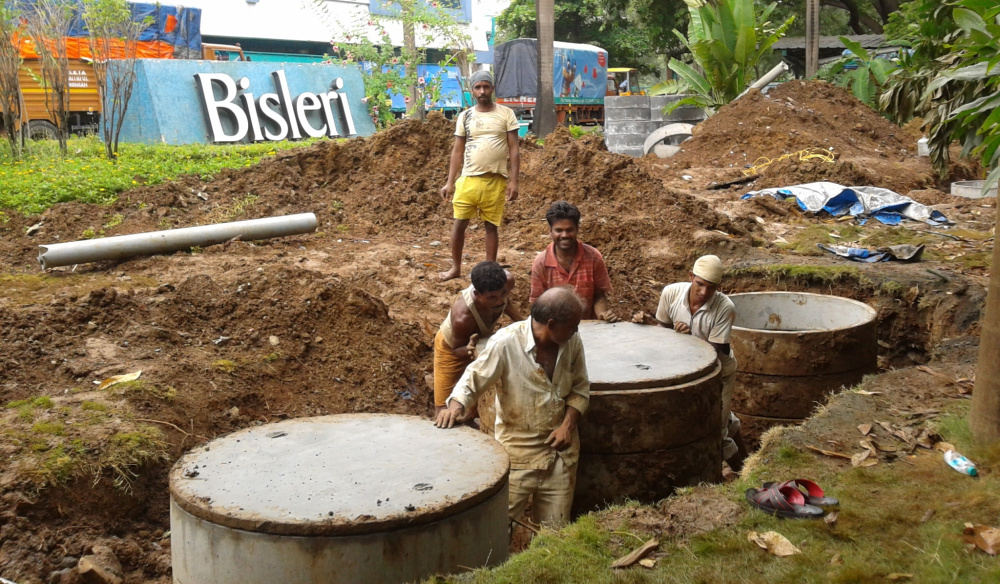 Dnd ecotech ground water project at Bisleri