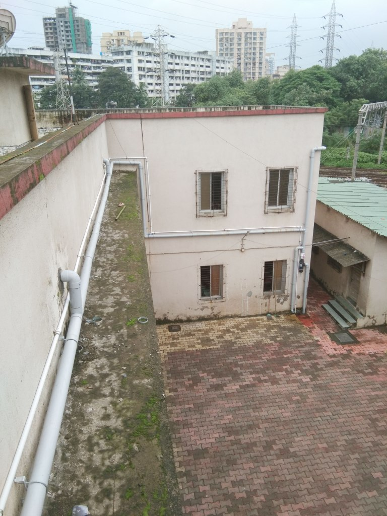 Rooftop Rainwater Harvsting. At Shahyadri Vidyamandir school( Bhandup - East) Mumbai