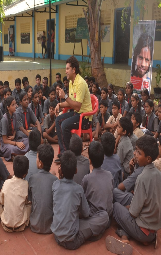 Sachin Tendulkar Save My School Campaign – A Case Study